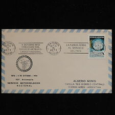ZS-AC337 ARGENTINA - Airmail, 1973 Creation Of Meterological Service Cover
