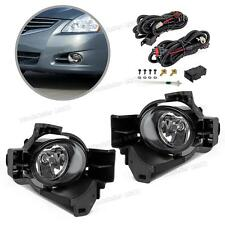 Car Bumper Halogen Fog Lights Lamps w/Switch for 2010-12 Nissan Altima 4Dr Sedan