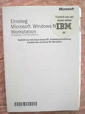 Ingresso/lead-in MS Windows NT Workstation, fondamenti e installazione, Basics
