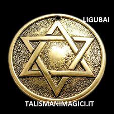 TALISMANO Pentacolo di Salomone la stella di David FORTE PROTETTIVO ASSOLUTO