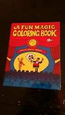 "Magic Colouring Book - Circus - Large 8"" by 5.5"""