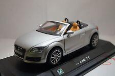 Audi TT Roadster 1:24 die-cast scale metal model by Hongwell