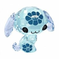 SWAROVSKI THE LOVLOTS #5004520 WAN WAN THE DOG BNIB ZODIAC BLUE CRYSTAL FLOWER