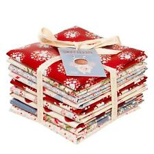 Tilda 100% Cotton Fat Quarter Fabric - Sweetheart Bundle of 9 Pieces 50 x 55 cm