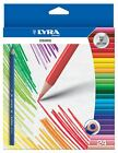 24 x LYRA OSIRIS COLOURING PENCILS - Triangular Shape, Ideal for Adult Colouring