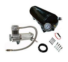 150 PSI AIR COMPRESSOR/3 GAL AIR TANK KIT, ON-BOARD AIR SYSTEM FOR TRAIN HORN