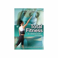Total Fitness In 12 Minutes - A Day For Women (NEW & SEALED DVD, 2008)