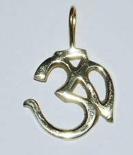New Metal Om Pendant Necklace - Hippy Ethnic Aum Namaste Yoga Jewellery Hippie