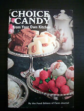 Choice Candy From Your Own Kitchen Farm Journal 1971 Vintage Cookbook
