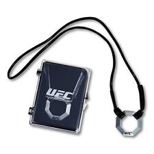UFC Officially Licensed Pewter Pendant - Necklace New/Sealed in Plastic Case