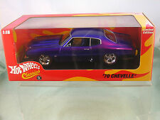 70 Chevelle - 1/18  scale  Limited Edition  New Listing ( HOT WHEELS CLASSICS )