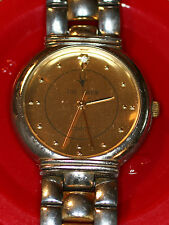 ORYX METAL WATCH GOLD/SILVER BAND W/BATTERY ADJUSTABLE