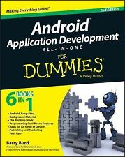 Android Application Development All-in-One for Dummies&Reg by Barry Burd...