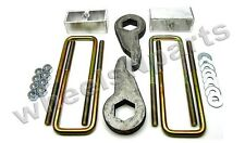 "Lift Kit Front Torsion Keys Rear 4"" Blocks 88 - 98 GM 1/2 ton 6 Lug Truck & SUV"