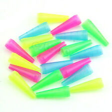 100 Pieces Colorful Female Plastic Disposable Mouth Tips Hookah Pipe