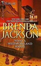 What a Westmoreland Wants (Silhouette Desire), Brenda Jackson, Good Book