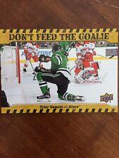 2016/17 UD Hockey Series 1 E-Pack Don't Feed Goalie Tyler Seguin #DFG-TS