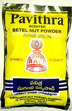 PAVITHRA SCENTED BETEL NUT POWDER PUTTUR SPECIAL -50 gms x 3 PCS