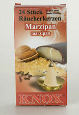 2 x Boxes German Incense - MARZIPAN - Smoker Raucherkerzen Smokerman Rauchermann