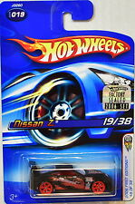HOT WHEELS 2006 FIRST EDITIONS NISSAN Z #019 BLACK FACTORY SEALED