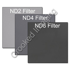 Kood NEUTRO desnity ND Filter Kit 100mm ND2 ND4 ND8-si adatta Lee, COKIN & Hitech
