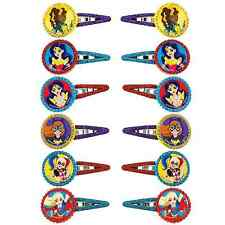 DC Super Hero Girls Hair Clips Birthday Decoration Party Barrette Favor Supplies