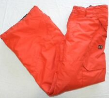 WOMENS red SNOWBOARD ski winter snow PANTS = DC EXOTEX 3K series = LARGE = wh68