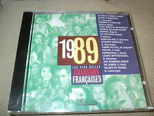 Cd nf CHANSONS FRANCAISES - 1989 Richard GOTAINER Michel DELPECH Gerard LENORMAN