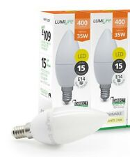5w - 35w High Lumen E14 LED Small Edison Screw Candle Bulb Cool White SES 5000k