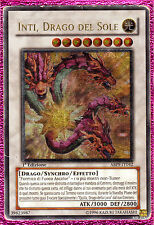 INTI DRAGO DEL SOLE ABPF-IT042 (GIOCATA) Rara Ultimate in Italiano YUGIOH