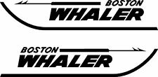 "2 Boston Whaler Decals left & right 15"" FREE SHIPPING"