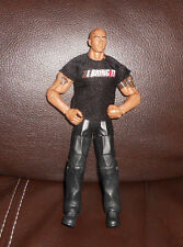 "WWE The Rock 7"" 2010 Mattel Wrestling Figure elite rare!"