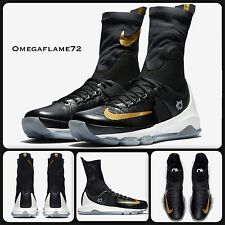 Nike KD 8 Elite Negro y Oro 834185-071 Size UK 9, EUR 44, usa 10