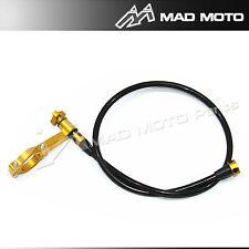 Brembo  Folding Lever remote brake/clutch lever adjuster gold  color