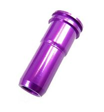 SHS-031 Airsoft Aluminum Air Seal Nozzle for V.3 Gearbox AEG (Long Type, purple)