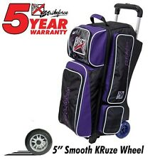 KR Strikeforce KRush Grape/Black 3 Ball Roller Bowling Bag