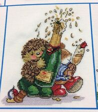 "Country Companions Cross Stitch Chart ""Champagne Bubbles"""