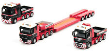 WSI 410055 Mammoet 3-Truck Combination w/Low Loader Trailer - 1/87 Brand-new MIB