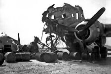 New 5x7 Korean War Photo: Wreckage of Aircraft on Recaptured Kimpo Airfield