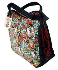 ED HARDY BY CHRISTIAN AUDIGIER TRAVEL TOTE