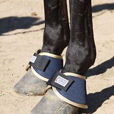 Horse Therapy Magnetic Bell Boots SMB Magnet 1100 Gauss Unipolar Sport Tack NEW