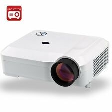 3800 Lumens HD LED Projector - 1280x768 DPI Resolution, 5.8 Inch LCD Panel, 2000