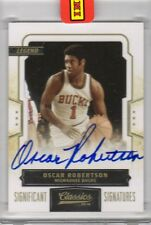2009-10 Panini Classics Black Box Oscar Robertson Auto #1/1 Sealed Case
