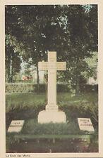 La Croix des Morts Maison de Jésus-Ouvrier QUEBEC Qc Canada PECO 1940s Postcard