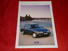 FORD Sierra LX GL Ghia 2.0iS XR 4x4 CL Coupe S Coupe Prospekt von 1988