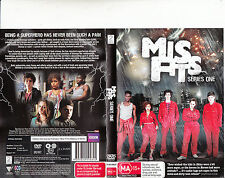 Mis Fits-2009/13-TV Series UK-Series One-6 Episodes-2 Disc-DVD