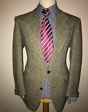 HARRIS TWEED LUXURY JACKET by HECTOR RUSSELL KILTMAKER GROUP SCOTLAND 42R