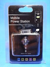 Mobile Power Station - Battery Charger/Extender for Apple iPod & iPhone / BLACK