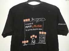 """T-SHIRT: APPLAUSE - """"A ROUND OF APPLAUSE FOR ALL MY FAVORITE APPS"""""""