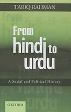 From Hindi to Urdu: A Social and Political History, Rahman, Tariq
